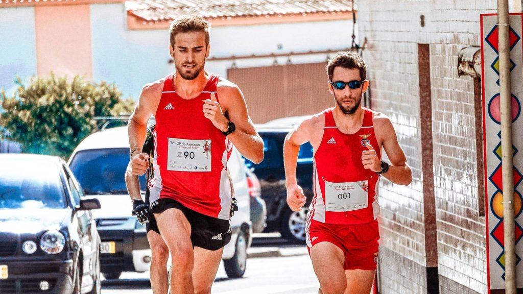 men doing a marathon