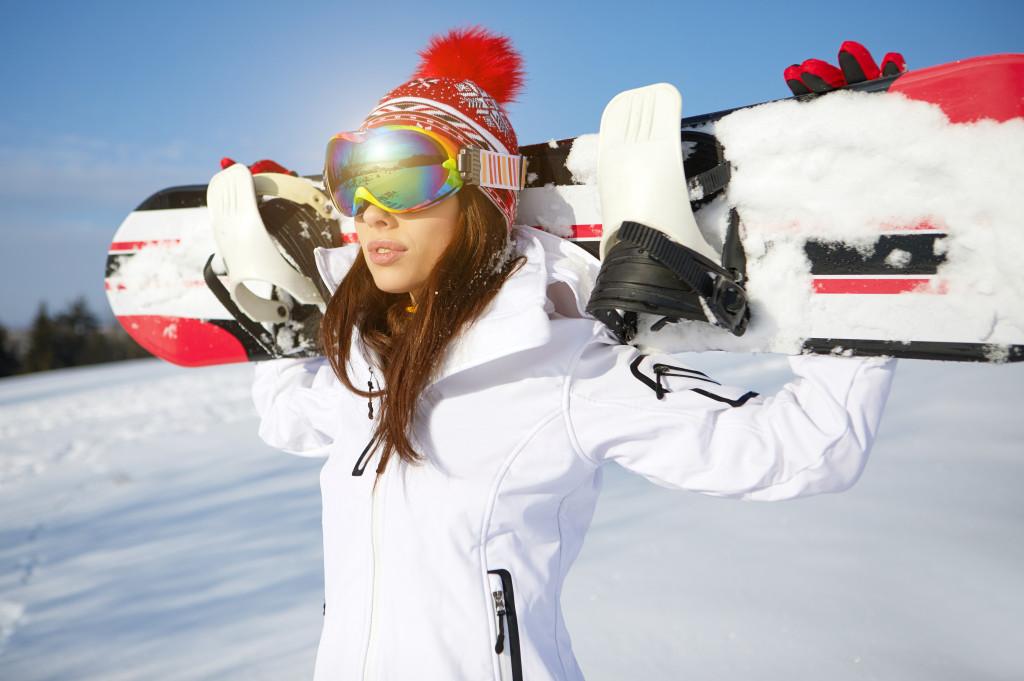 snow boarding vacation